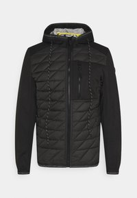 HYBRID JACKET - Lehká bunda - black