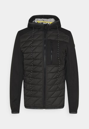 HYBRID JACKET - Jas - black