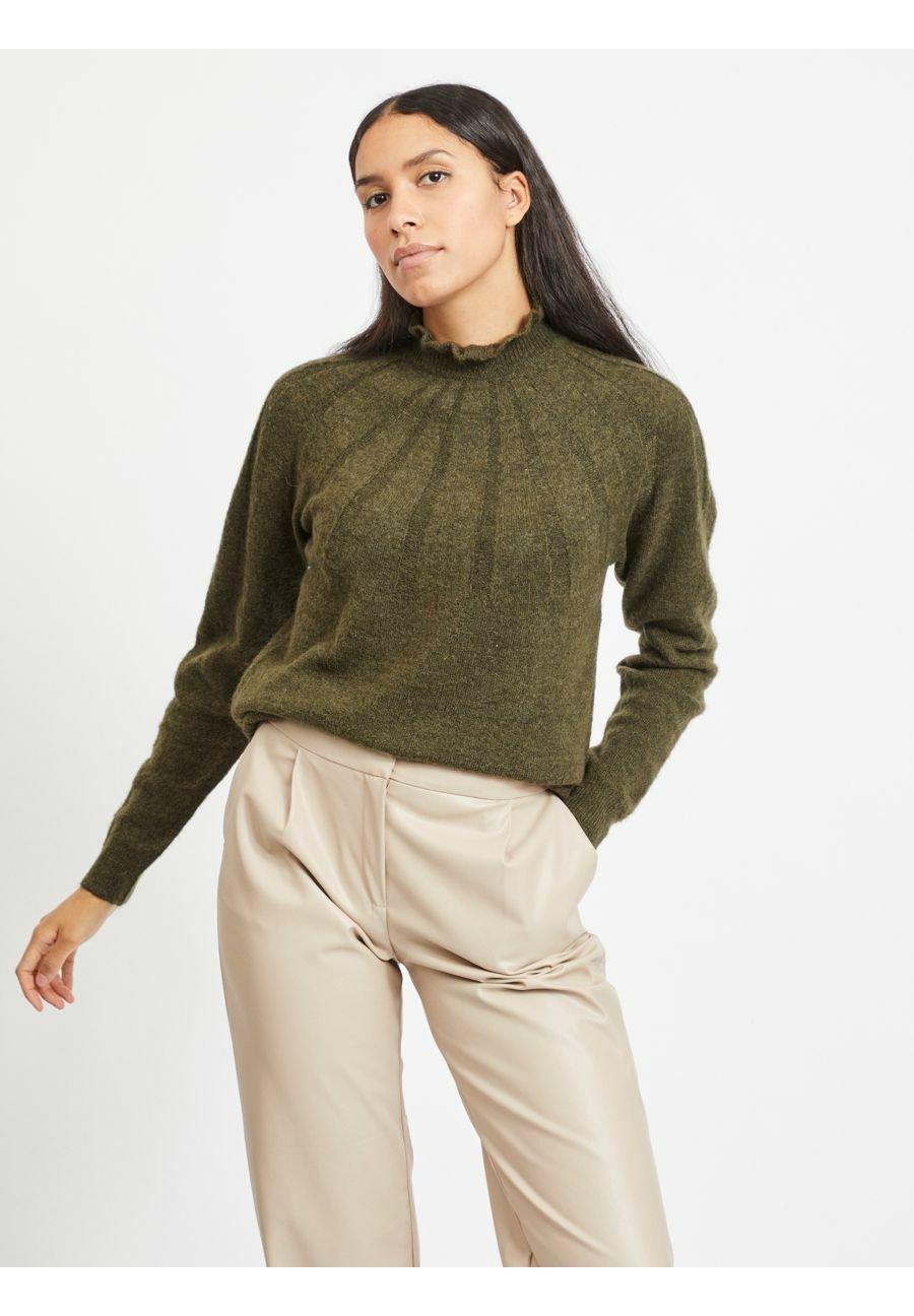 Femme STEHKRAGEN - Pullover