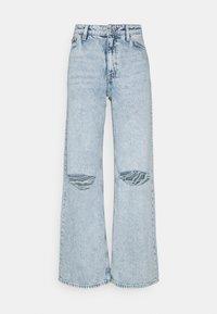 Jeansy Straight Leg - blue dusty light