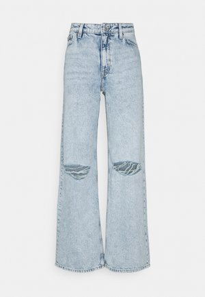 YOKO DISTRESSED - Straight leg jeans - blue dusty light