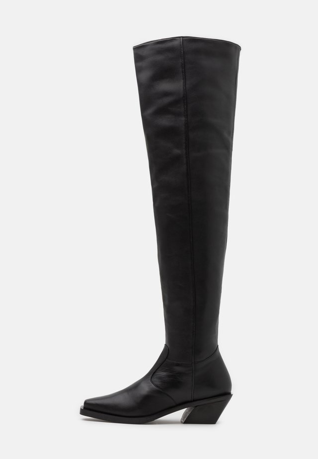 KYLA - Over-the-knee boots - black