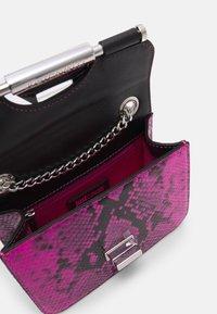 Just Cavalli - Across body bag - beetroot purple/black - 3