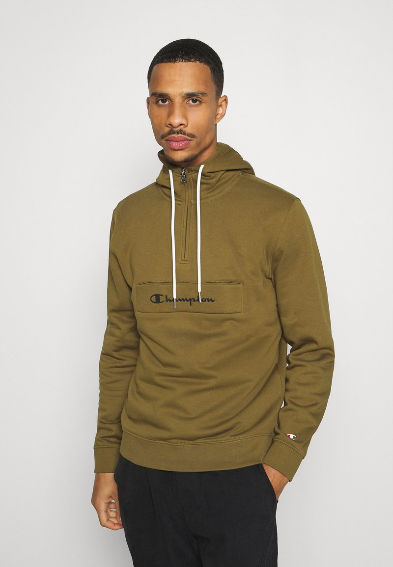 Champion - LEGACY - Sweat à capuche - olive