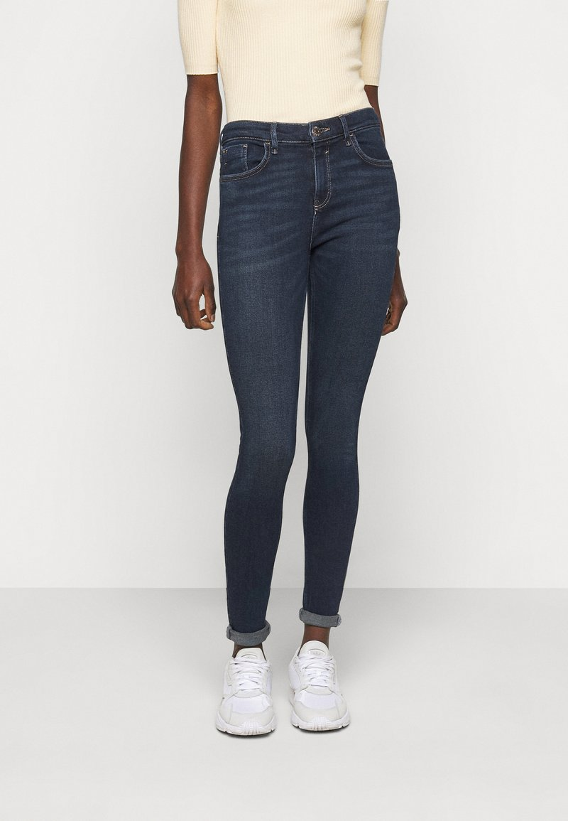 River Island Tall - Jean droit - dark auth