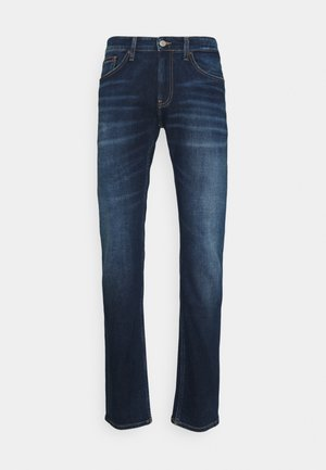SCANTON HERITAGE - Jeans a sigaretta - dark blue denim