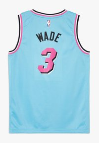 Nike Performance - NBA WADE DWAYNE MIAMI HEAT CITY EDITION SWINGMAN - Klubové oblečení - blue gale - 1
