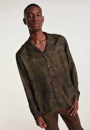 T-shirt à manches longues - olive kaki