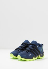 adidas Performance - TERREX AX2R - Hiking shoes - collegiate navy/core black/signal green - 3
