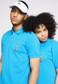 Lacoste - POLAROID UNISEX - Polo shirt - blue - 5