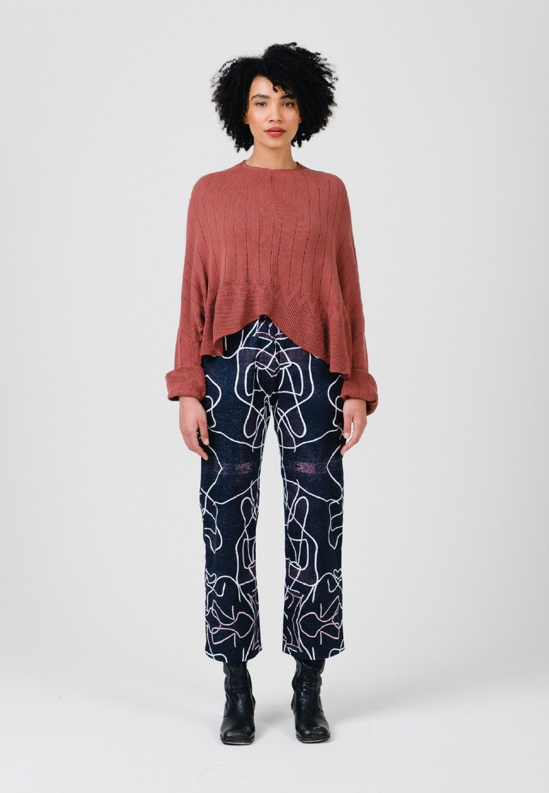 Solai - Jumper - clay red