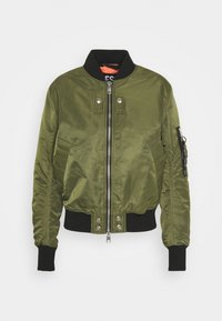 Diesel - W-SWING JACKET - Bomber Jacket - military green - 4
