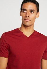 Benetton - Basic T-shirt - red - 3
