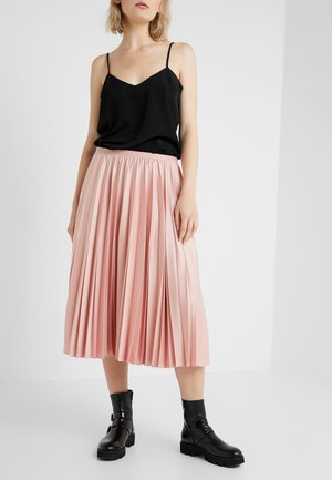 JULIA PLEATED SKIRT - A-line skirt - blush flower