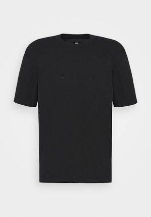 KATAKANA EMBROIDERY UNISEX  - Basic T-shirt - black