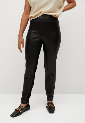 BIPOLI - Leggings - Trousers - black