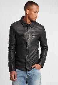Gipsy - G2BAINIGO SF LABONV - Leather jacket - black - 0