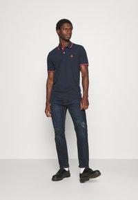 Selected Homme - SLHNEWSEASON 2 PACK - Polo shirt - navy blazer/port roayle - 0