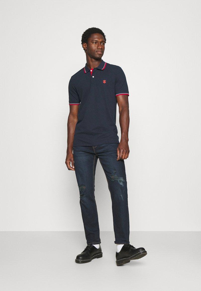 Selected Homme - SLHNEWSEASON 2 PACK - Polo shirt - navy blazer/port roayle