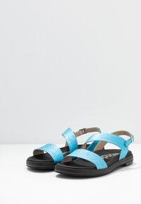 WONDERS - Sandaler - blue metallic - 4