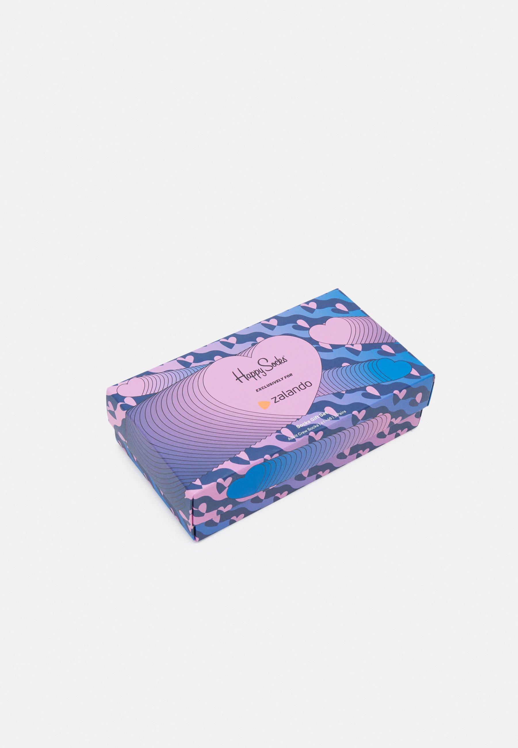 Women HEARTS GIFTBOX 3 PACK UNISEX - Socks