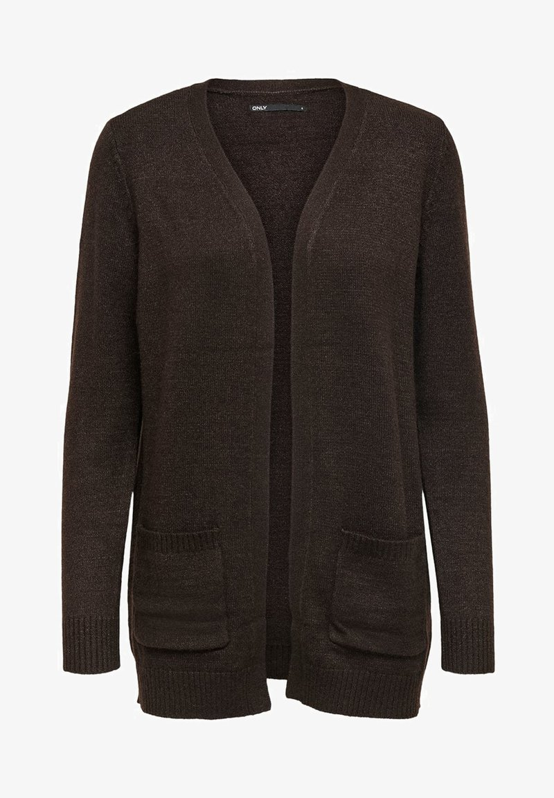 ONLY - ONLLESLY L/S  NOOS - Cardigan - chicory coffee