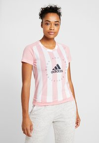 adidas Performance - TEE - Print T-shirt - pink - 0