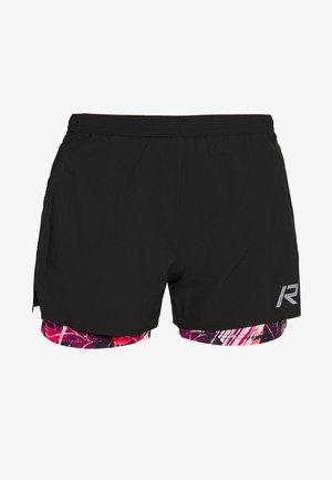 RUKKA MAHALA - Sports shorts - black