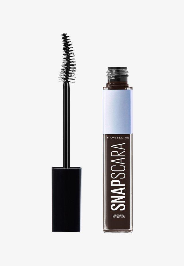 SNAPSCARA - Mascara - bold brown