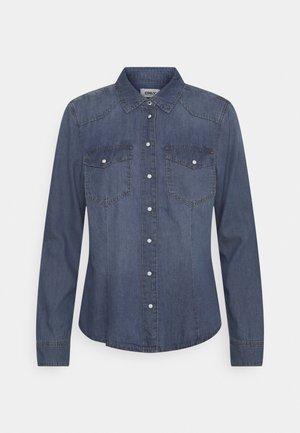 ONLROCK IT LIFE SHIRT  - Skjorte - medium blue denim