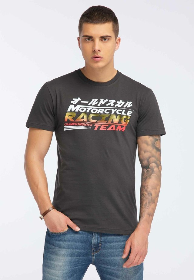 OLDSKULL T-SHIRT PRINT - T-shirt imprimé - dark grey