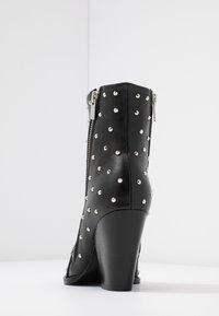 The Kooples - Cowboy/biker ankle boot - black - 5