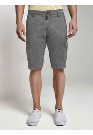 Denim shorts - tarmac grey