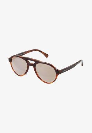 Sunglasses - bordeaux/yellow/tort