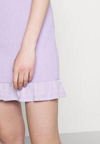 Vila - VIHAGEN SHORT FESTIVAL SKIRT - Mini skirt - lavender - 4