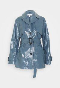 Topshop - DOLLY SHACKET - Trenchcoat - blue - 0