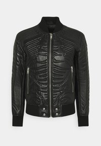 Diesel - L-FUTURE GIACCA - Leather jacket - black - 0