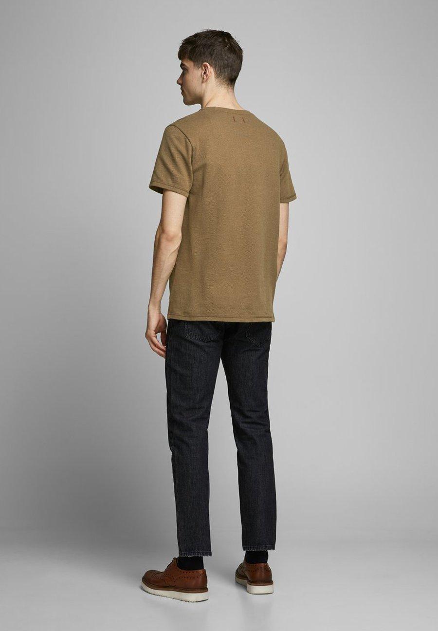 Jack & Jones PREMIUM Basic T-shirt - dark earth Bc5My