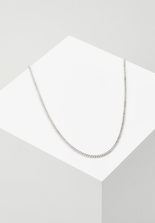 LUXE SHORT CHAIN - Halsband - silver-coloured