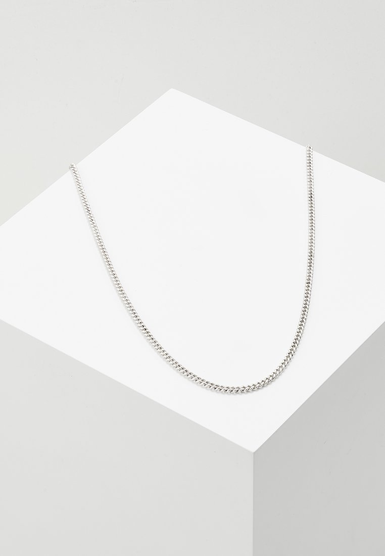 Icon Brand - LUXE SHORT CHAIN - Necklace - silver-coloured
