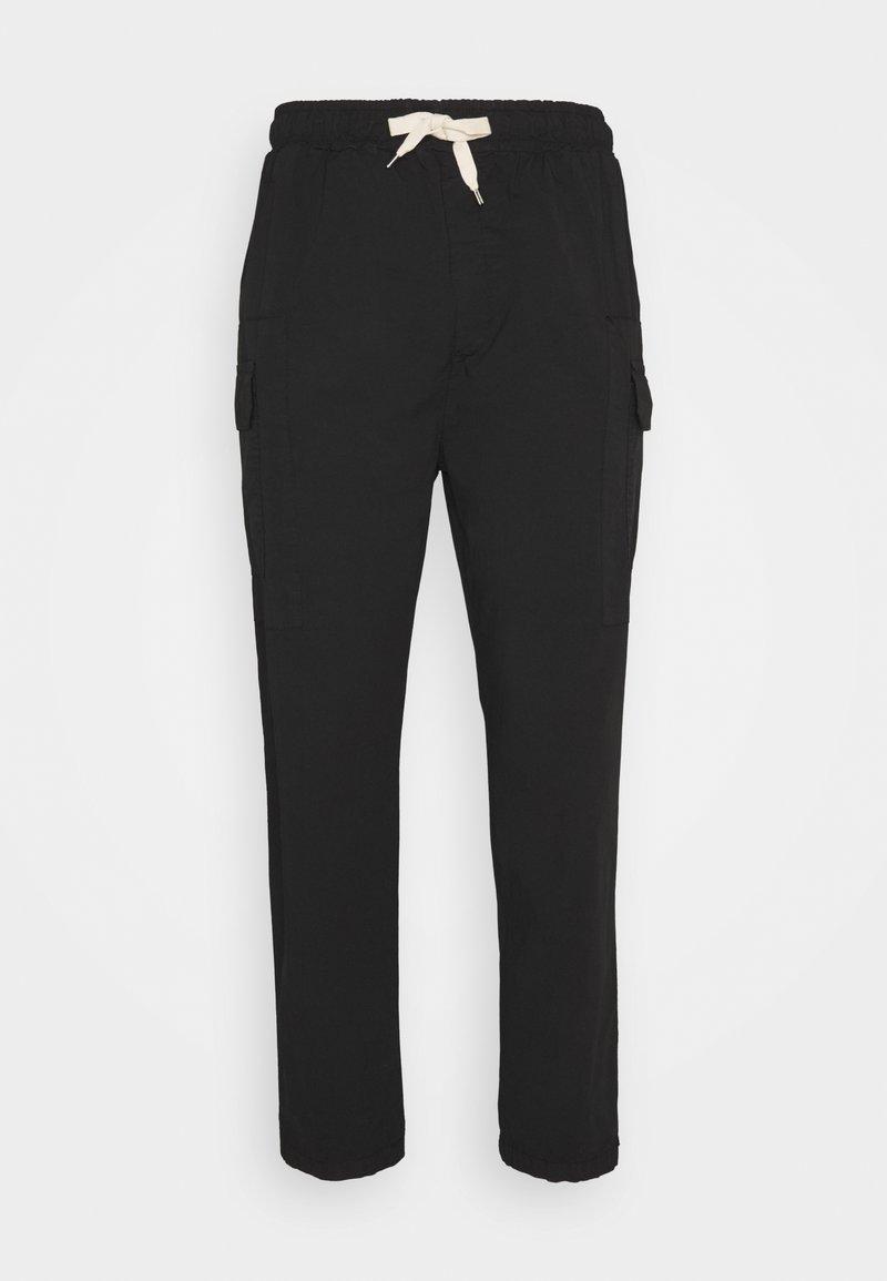 Gianni Lupo - PANT - Pantalon cargo - black