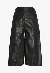 Who What Wear - THE VEGAN CULOTTE - Pantalon classique - black - 3