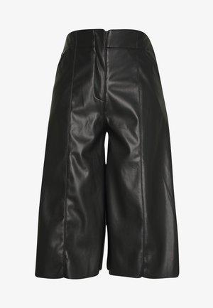 THE VEGAN CULOTTE - Pantalon classique - black