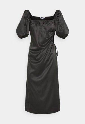 PUFF SLEEVE CUT OUT DRESS - Robe d'été - black
