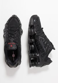 Nike Sportswear - Nike Shox TL Herrenschuh - Trainers - black/metallic hematite/max orange - 2
