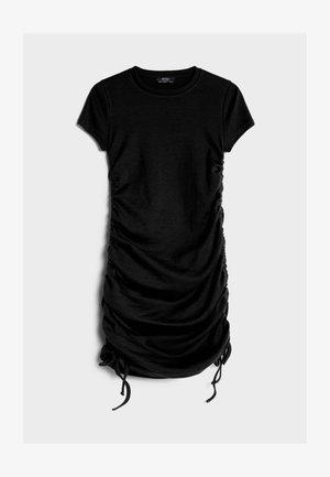 MIT RAFFUNGEN - Denní šaty - black