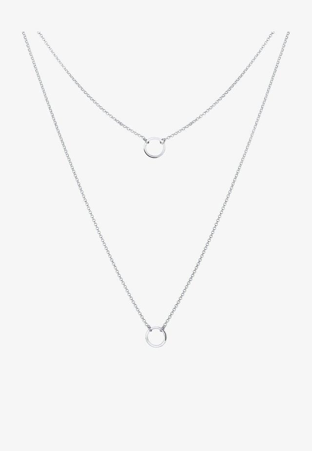 KREIS - Necklace - silber