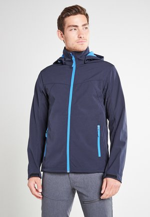 BIGGS - Soft shell jacket - blau