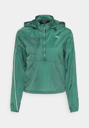 RUN LITE WOVEN JACKET - Veste de running - blue spruce