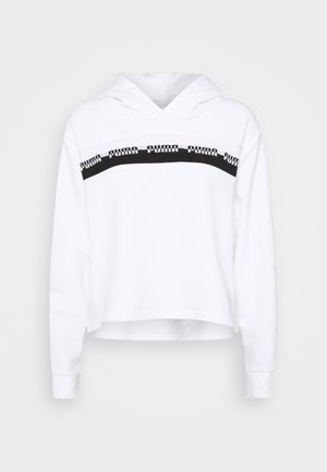 AMPLIFIED CROPPED HOODIE  - Hoodie - white